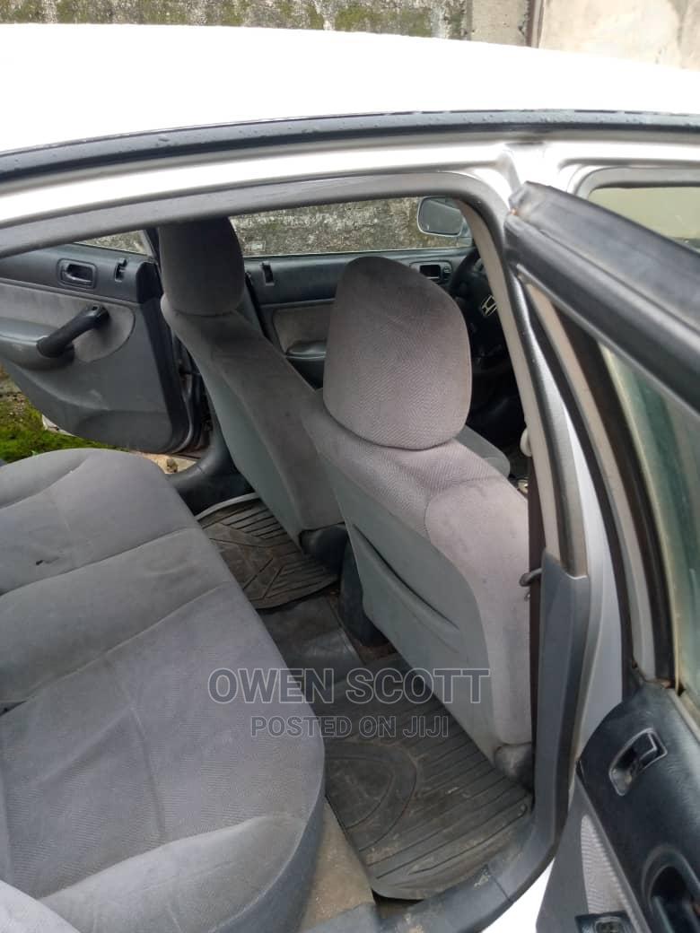 Archive: Honda Civic 2002 Silver