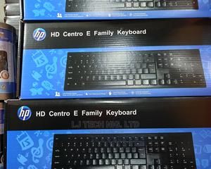 Hp Optical Wired Keyboard | Computer Accessories  for sale in Lagos State, Ikeja