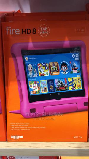 New Amazon Fire HD 8 32 GB Pink | Tablets for sale in Lagos State, Ikeja