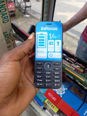 New InFocus Vibe 2 Black   Mobile Phones for sale in Rivers State, Obio-Akpor