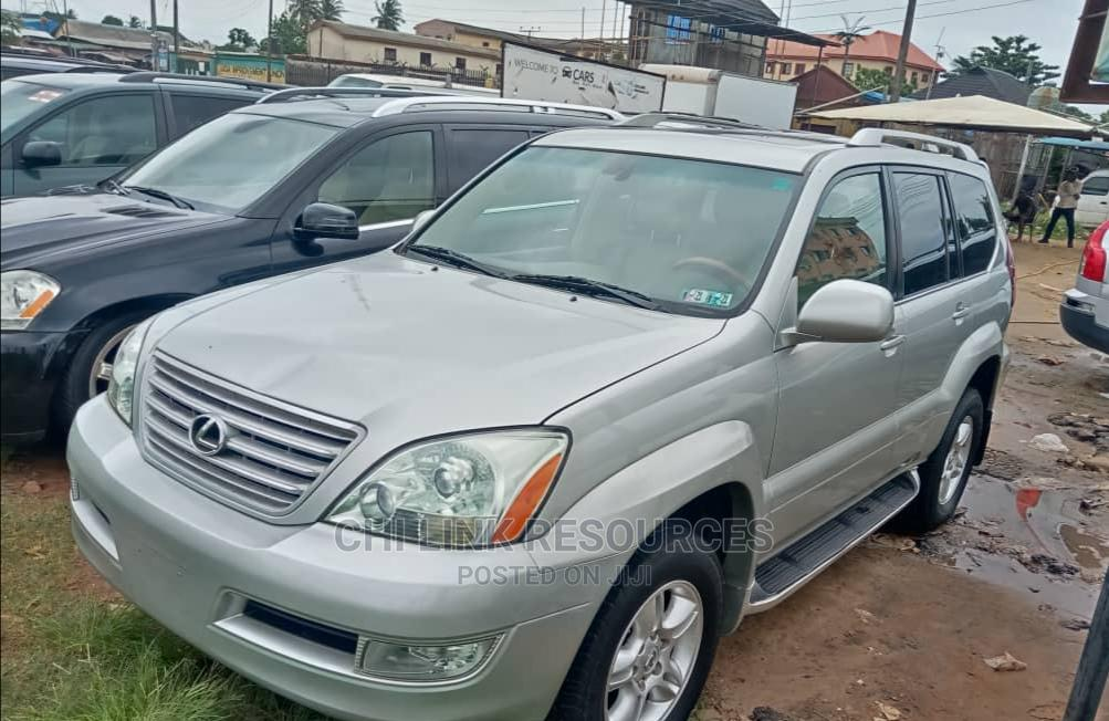 Lexus GX 2004 470 Silver   Cars for sale in Ojo, Lagos State, Nigeria