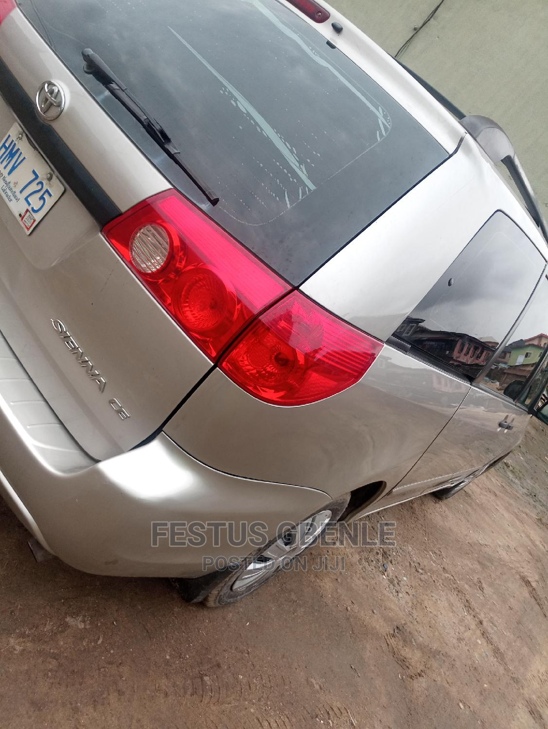 Archive: Toyota Sienna 2007 Silver