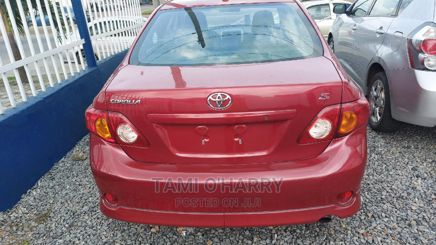 Toyota Corolla 2008 Red | Cars for sale in Port-Harcourt, Rivers State, Nigeria