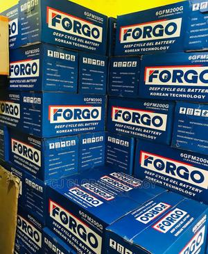 200ah Forgo Deep Cycle Battery   Solar Energy for sale in Lagos State, Apapa