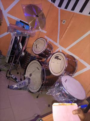 Quality Yamaha Drum Set 5 Set | Musical Instruments & Gear for sale in Lagos State, Ojo