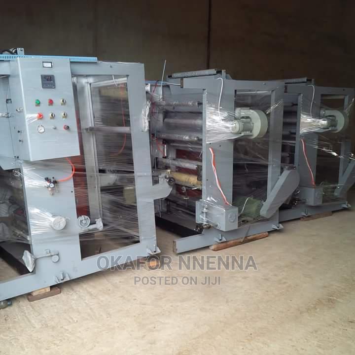 Two Colour Nylon Printing Machine Gravure