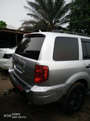 Honda Pilot 2004 EX 4x4 (3.5L 6cyl 5A) Silver | Cars for sale in Lagos State, Ajah
