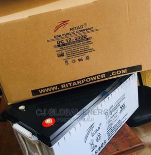 200ah 12V Ritar Battery   Solar Energy for sale in Lagos State, Maryland