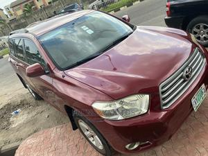 Toyota Highlander 2009 Limited Red | Cars for sale in Lagos State, Ikeja