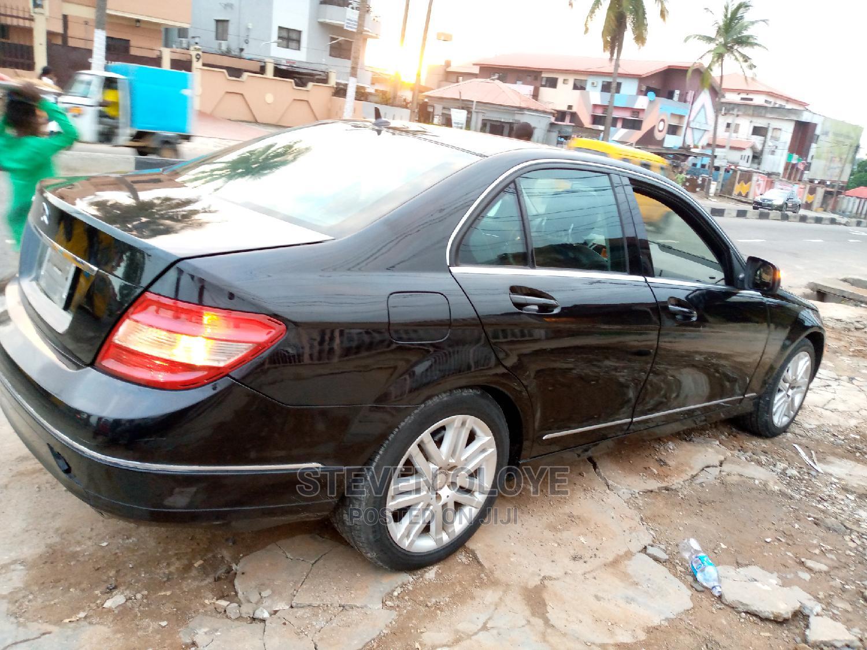 Mercedes-Benz C300 2009 Black | Cars for sale in Ikeja, Lagos State, Nigeria