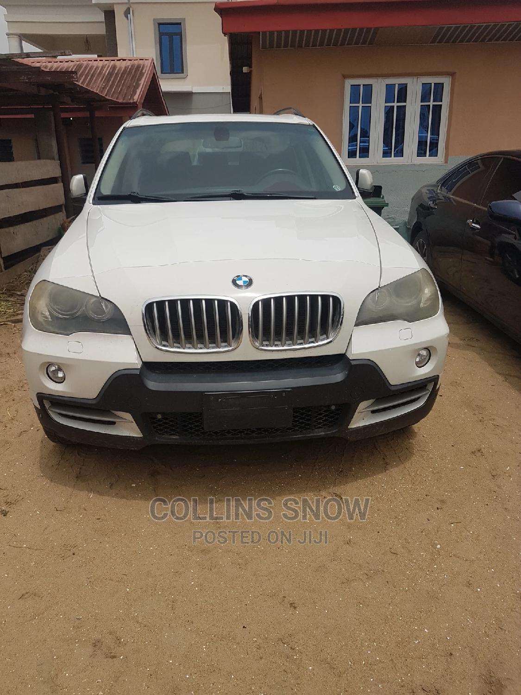 BMW X5 2008 4.8i Sports Activity White