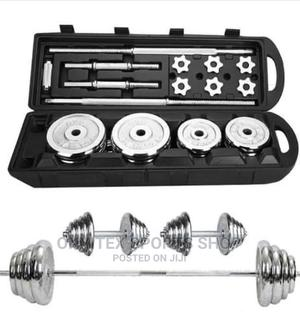 50kg Adjustable Dumbbell With Case | Sports Equipment for sale in Abuja (FCT) State, Central Business District