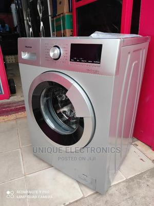 Hisense 8kg Front Loader Washing Machine SMART CONTROL 8012S   Home Appliances for sale in Lagos State, Ojo