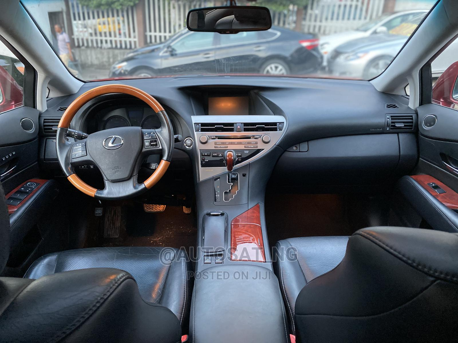 Lexus RX 2010 350 Red   Cars for sale in Ikeja, Lagos State, Nigeria
