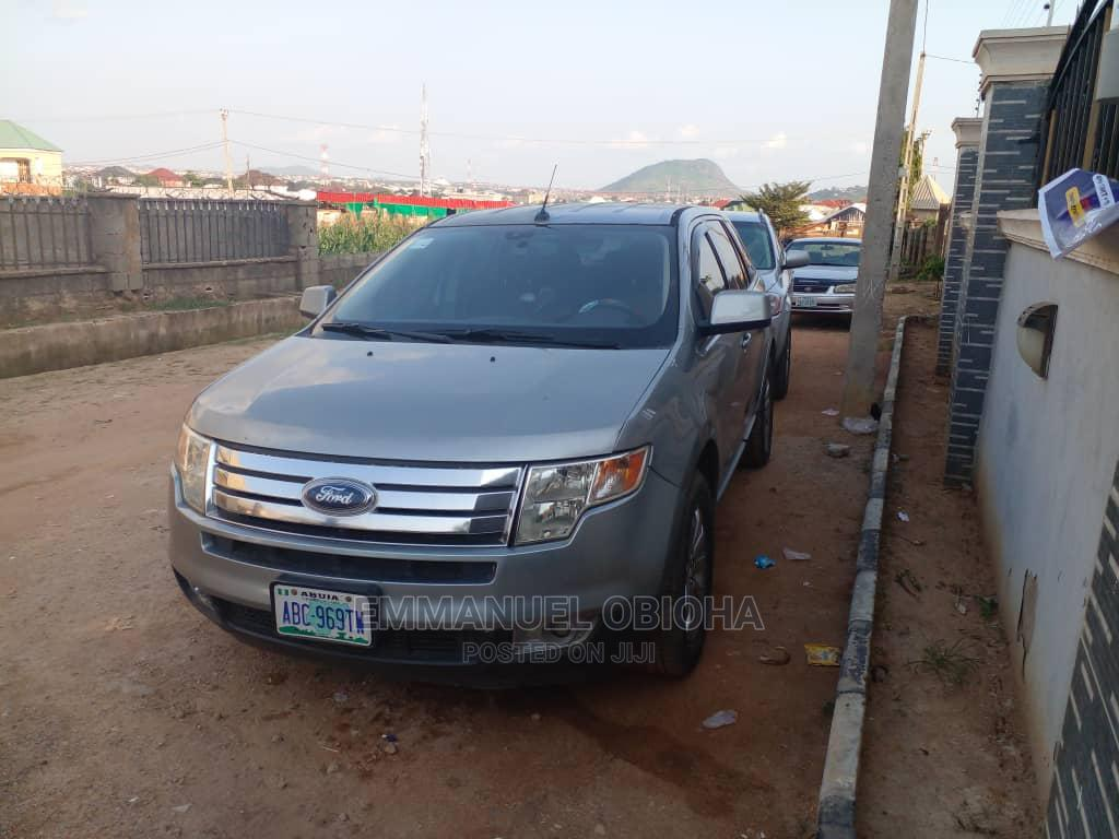Archive: Ford Edge 2007 Silver
