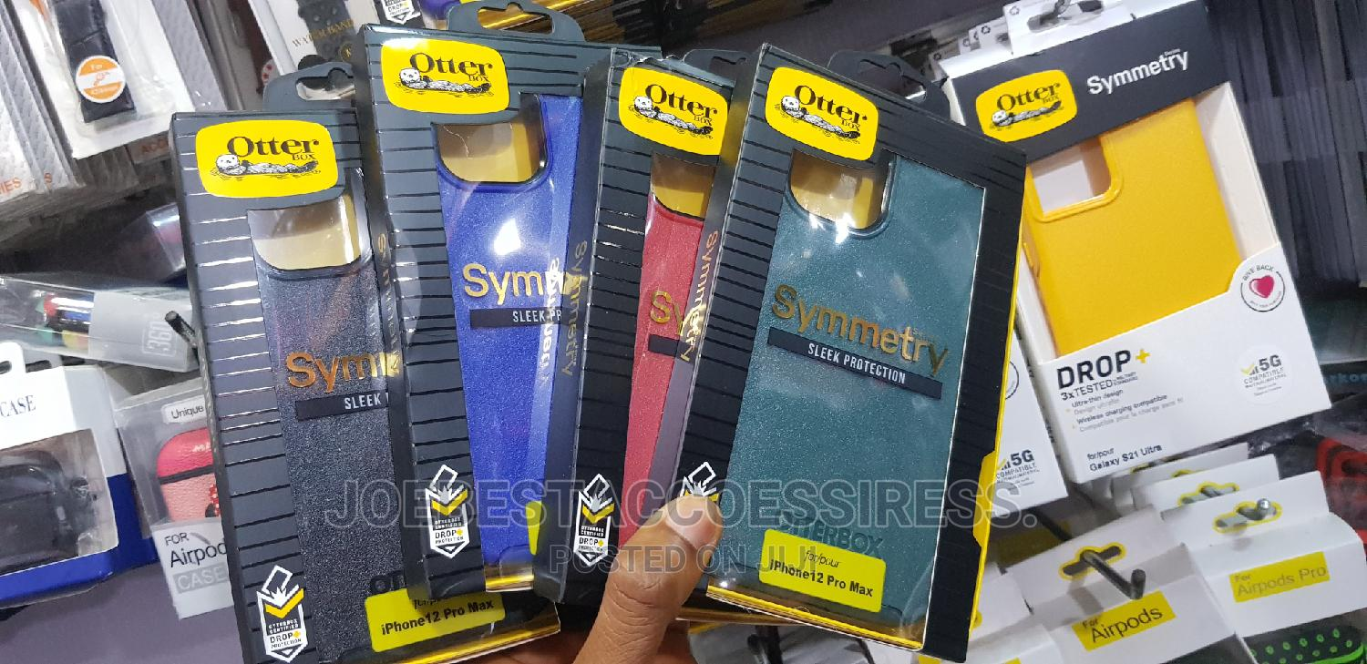 Otterbox Symmetry Series Case for iPhone 12 / 12 Pro Max | Accessories for Mobile Phones & Tablets for sale in Ikeja, Lagos State, Nigeria