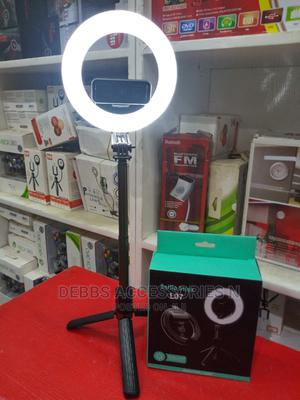 L07 Selfie Stick And Ringlight   Accessories for Mobile Phones & Tablets for sale in Lagos State, Ikeja