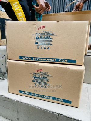 Ritar 200ah 12v Battery   Solar Energy for sale in Lagos State, Ojo