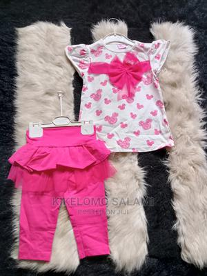 Turkey 2pcs Baby Skirt With Leggings Top | Children's Clothing for sale in Lagos State, Alimosho