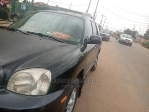 Hyundai Santa Fe 2005 2.4 Black | Cars for sale in Lagos State, Ifako-Ijaiye