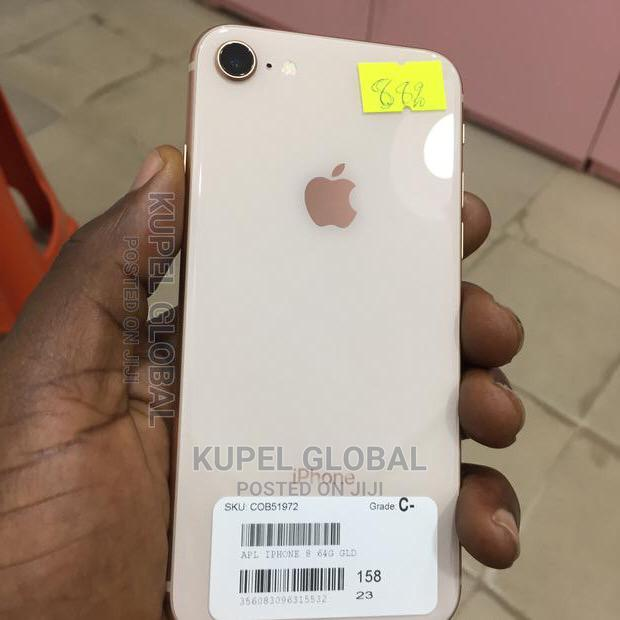 Apple iPhone 8 64 GB Rose Gold   Mobile Phones for sale in Ikeja, Lagos State, Nigeria