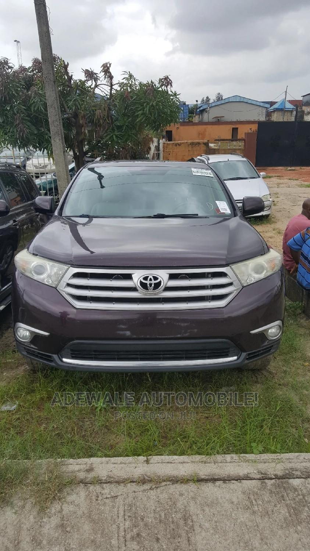 Archive: Toyota Highlander 2012 Limited Purple