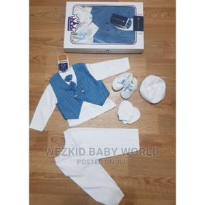 Baby Boy Dedication Cloth Set | Children's Clothing for sale in Lagos State, Agege