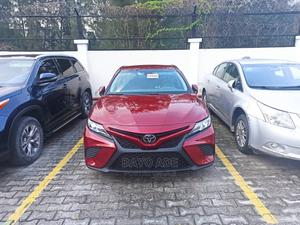 Toyota Camry 2018 SE FWD (2.5L 4cyl 8AM) Red   Cars for sale in Lagos State, Lekki
