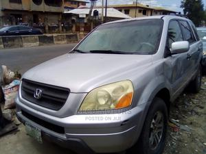 Honda Pilot 2005 EX 4x4 (3.5L 6cyl 5A) Silver | Cars for sale in Lagos State, Amuwo-Odofin