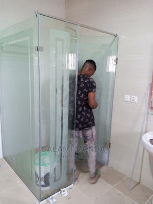 Hinged Shower Cubicle With 10MM Glass   Plumbing & Water Supply for sale in Abuja (FCT) State, Jabi