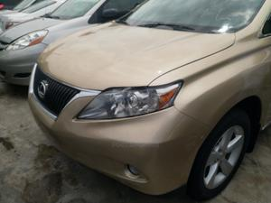 Lexus RX 2010 350 Gold | Cars for sale in Lagos State, Ojodu
