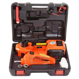 3 IN 1 Car Automatic Jack, Wrench With Tyre Inflator | Vehicle Parts & Accessories for sale in Lagos State, Alimosho