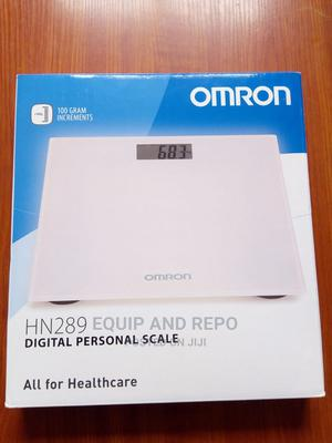Omron HN289 Personal Digital Scale (Pink) | Tools & Accessories for sale in Edo State, Benin City