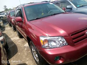 Toyota Highlander 2007 Limited V6 Red | Cars for sale in Lagos State, Apapa