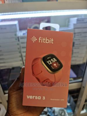 Fitbit Versa 3 Smartwatch+GPS   Smart Watches & Trackers for sale in Lagos State, Ikeja
