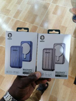 Green Magsafe Power Bank 10,000mah | Accessories for Mobile Phones & Tablets for sale in Lagos State, Ikeja