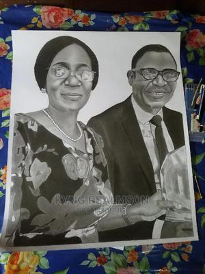 Pencil Portrait Drawing | Arts & Crafts for sale in Lagos State, Shomolu