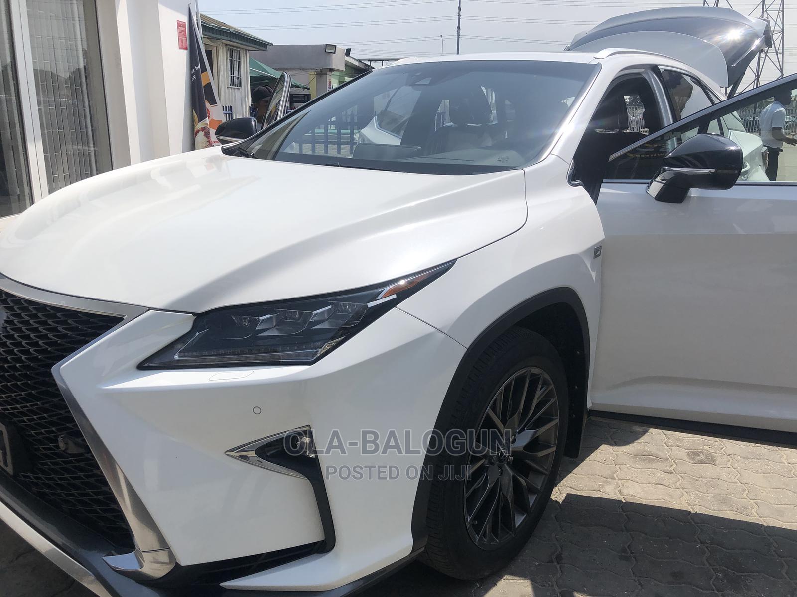 Archive: Lexus RX 2020 White