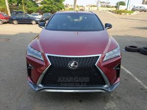 Lexus RX 2018 350 F Sport AWD Red   Cars for sale in Lagos State, Ikeja
