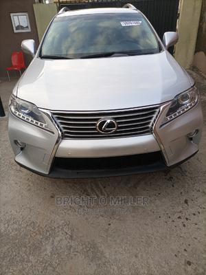 Lexus RX 2015 350 F Sport AWD Silver | Cars for sale in Lagos State, Abule Egba