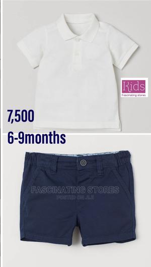 Baby Boys Shirt and Shorts | Children's Clothing for sale in Abuja (FCT) State, Asokoro