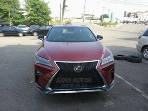 Lexus RX 2018 350 F Sport FWD Red   Cars for sale in Lagos State, Ikeja