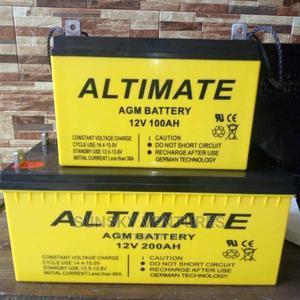 200ahs 12V Altimate Solar Battery | Solar Energy for sale in Lagos State, Ojo