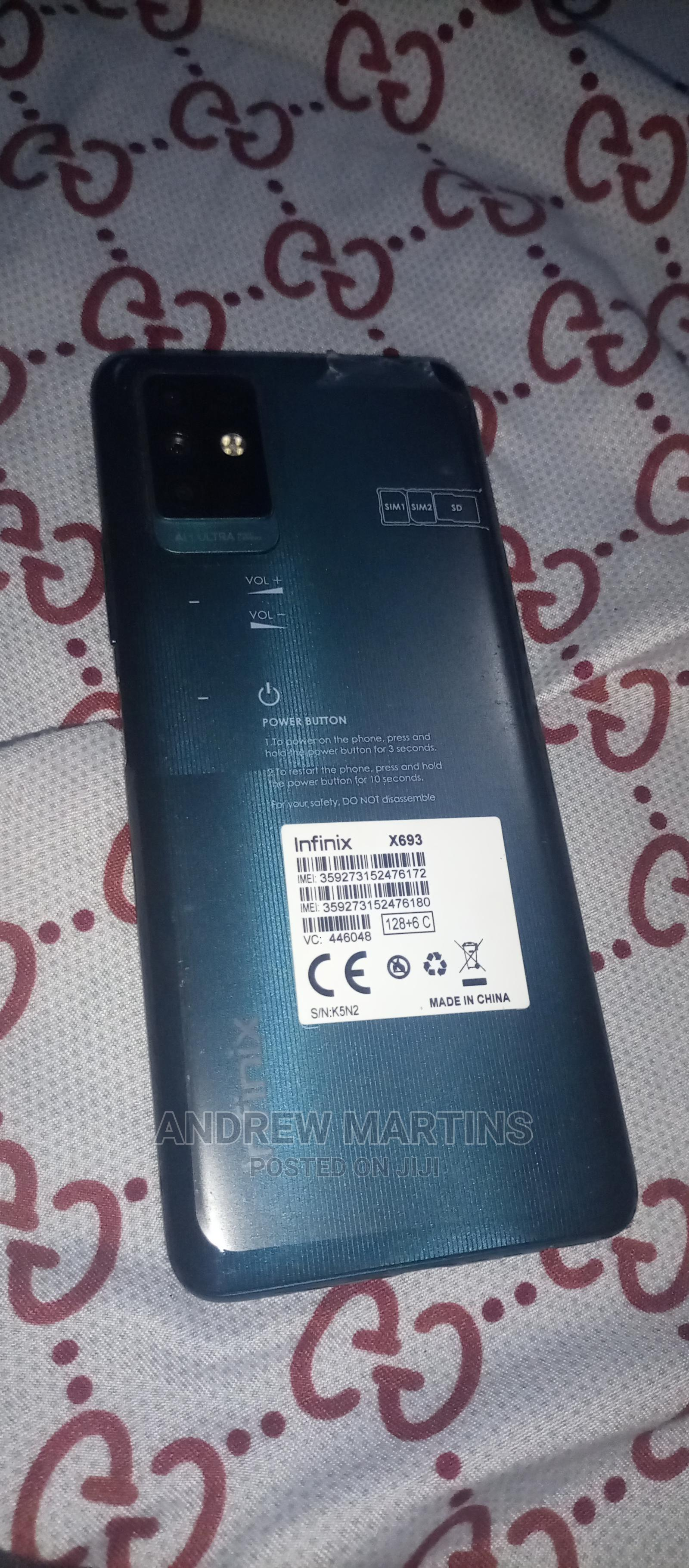 Archive: Infinix Note 10 128 GB Green