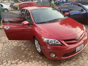 Toyota Corolla 2012 Red   Cars for sale in Abuja (FCT) State, Apo District