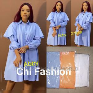 New Classic Female Quality Flare Shirt Dress   Clothing for sale in Lagos State, Ikeja