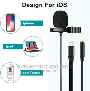 Collar Tie iPhone Lavalier Microphone | Audio & Music Equipment for sale in Lagos State, Ikeja