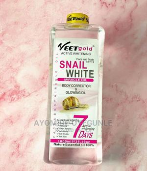 VEET GOLD Snail White Miracle Oil   Skin Care for sale in Lagos State, Surulere