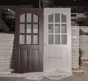 Wooden Door With Glass | Doors for sale in Lagos State, Orile