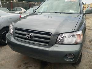 Toyota Highlander 2004 Limited V6 4x4 Green | Cars for sale in Lagos State, Ojodu